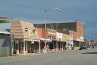 downtown Nixon, TX