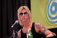 Duff McKagan was in town to give out financial advice.