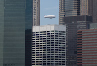 Blimp in the City