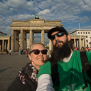 at Brandenburg Gate