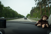 on the road to Bamberg