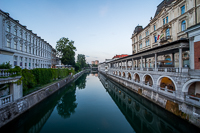 Ljubljana and the Ljubljanica River