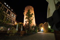 the tower at Burg Colmberg