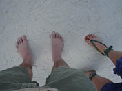 feet on the beach. beach feet!
