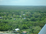 Belizean countryside near the international airport