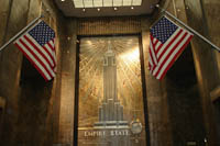 lobby of the Empire State Building