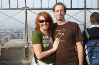 me and The Wife on top of the Empire State Building